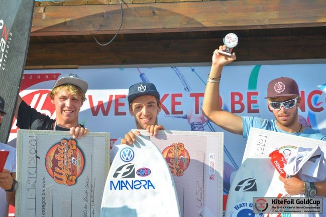 High Drama at Thrilling Climax of KiteFoil World Championships' First Act