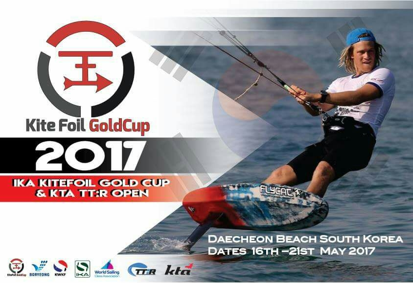Reminder: KiteFoil GoldCup Korea is about to start in one month time